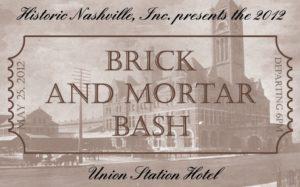 BRICK AND MORTAR BASH
