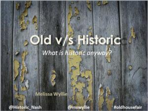 oldvshistoric